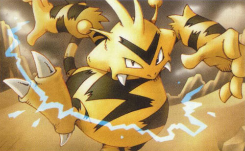 You're either perfect, or you're not me - T CARD Electabuzz