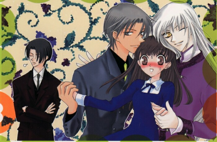 Fruits Basket Kyo And Yuki Fighting Tohru  Yuki  and Kyo just