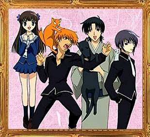 Fruits Basket Kyo And Yuki Fighting Tohru with Yuki  Kyo