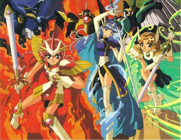 Magic Knight Rayearth Una Porta Socchiusa Ai Confini Del