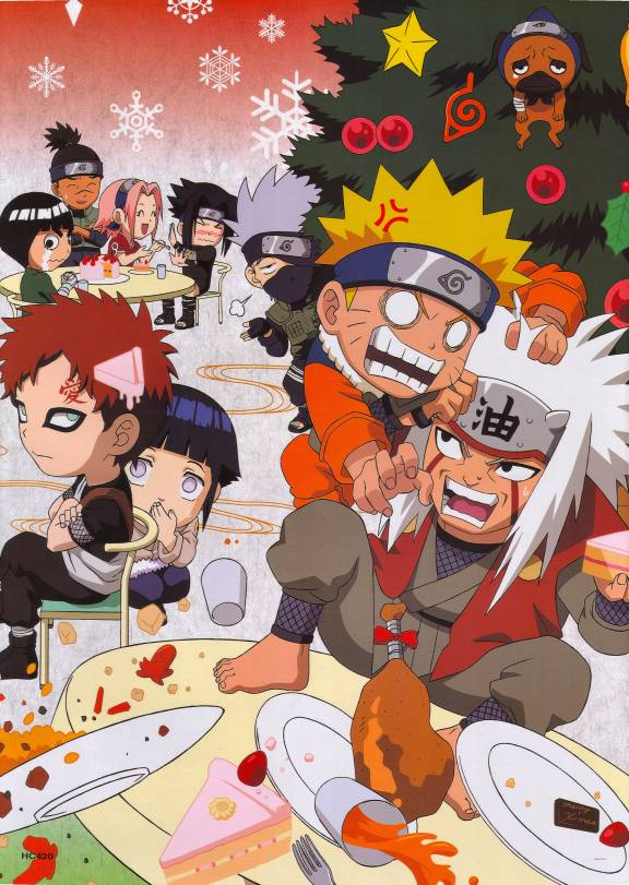 christmas anime naruto - photo #5