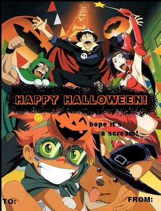 Anime greeting cards cowboy bebop halloween greeting m4hsunfo